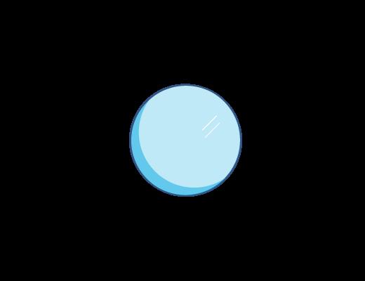 Линзы ACUVUE® имеют светло-голубой оттенок