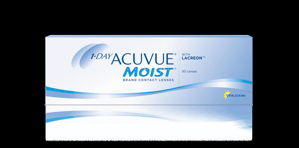 ОДНОРАЗОВЫЕ контактные линзы 1-DAY ACUVUE® MOIST