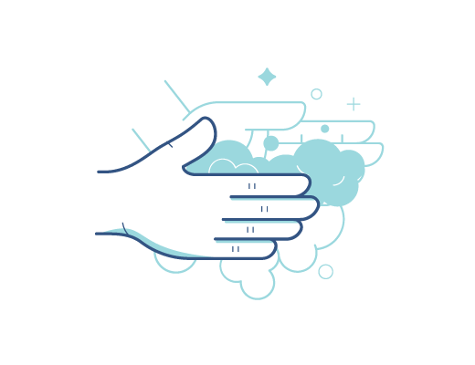 Тщательно мойте и вытирайте руки перед использованием линз